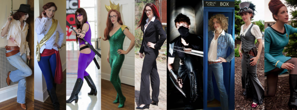 DragonCon 2014 Costume Lineup. (Scandal photo by Paul Cory; Steampunk and Star Trek photos by Jamie Bernstein; Kate Bishop photo by Cosplayers Canada)